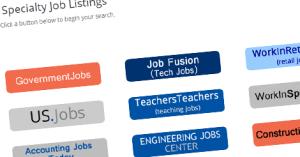 specialty job listings